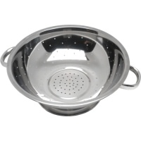 "Click for a bigger picture.Economy S/St. Colander 13""Tube Hdl."