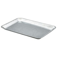Click for a bigger picture.Galvanised Steel Tray 31.5x21.5x2cm