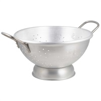 Click for a bigger picture.Aluminium Heavy Duty Colander 24.2L 47 x 25cm
